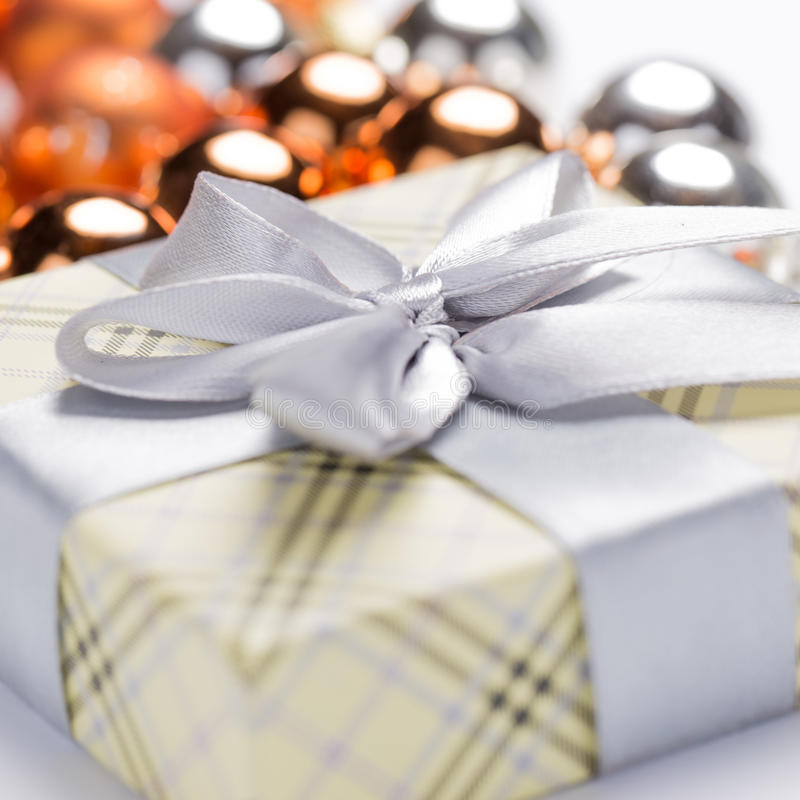 Download Present Package And Garlands Stock Image - Image: 35755779