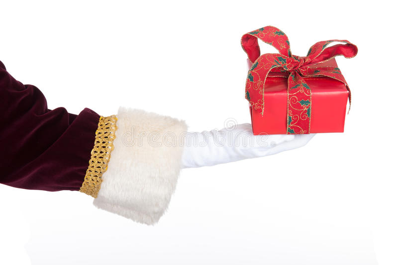 Download Present from Santa Claus stock photo. Image of isolated - 27647664