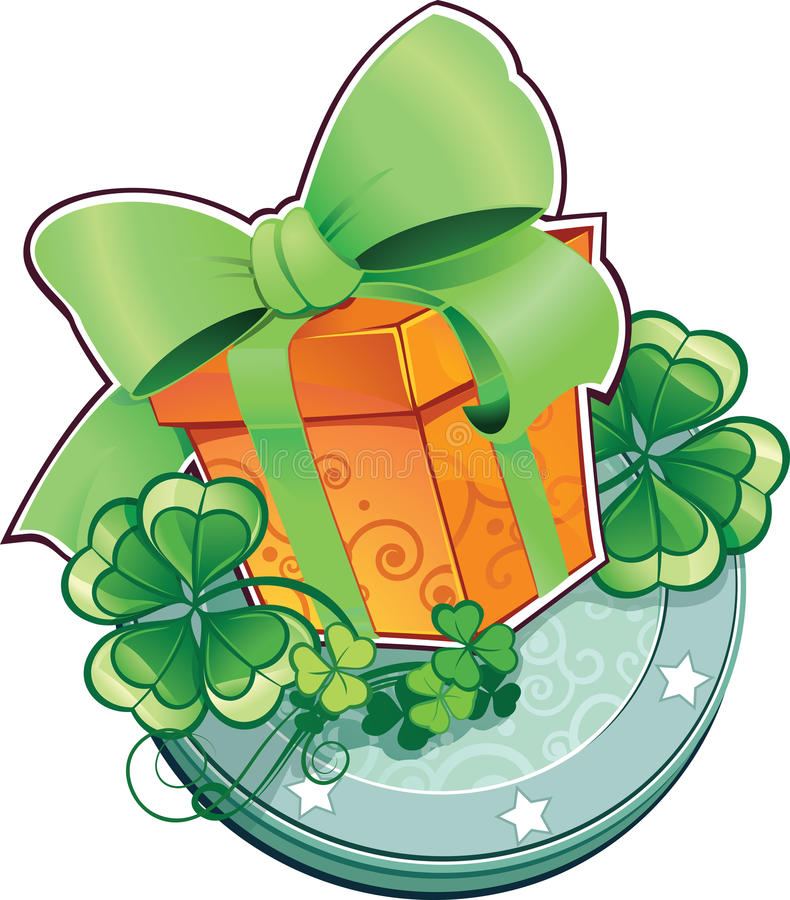 Download Present For St.Patricks Day. Stock Vector - Image: 29057022