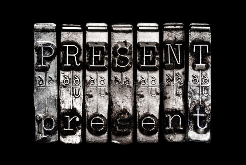 Download Present time concept stock image. Image of black, moment - 35560453