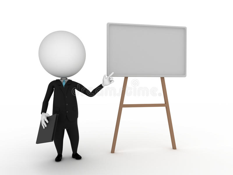 Presentación stock de ilustración