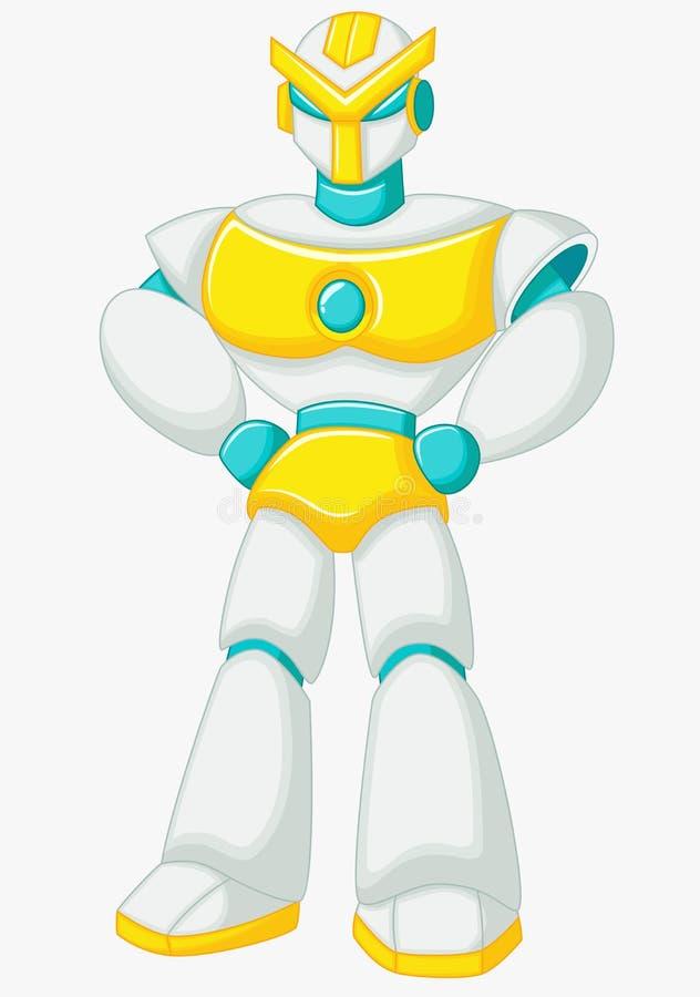 Presentación de la historieta del robot stock de ilustración