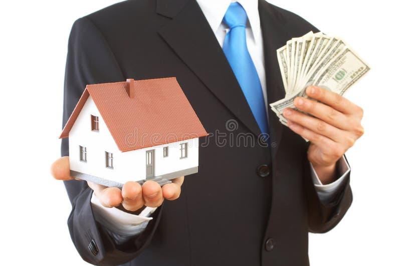 Presentación de las propiedades inmobiliarias foto de archivo
