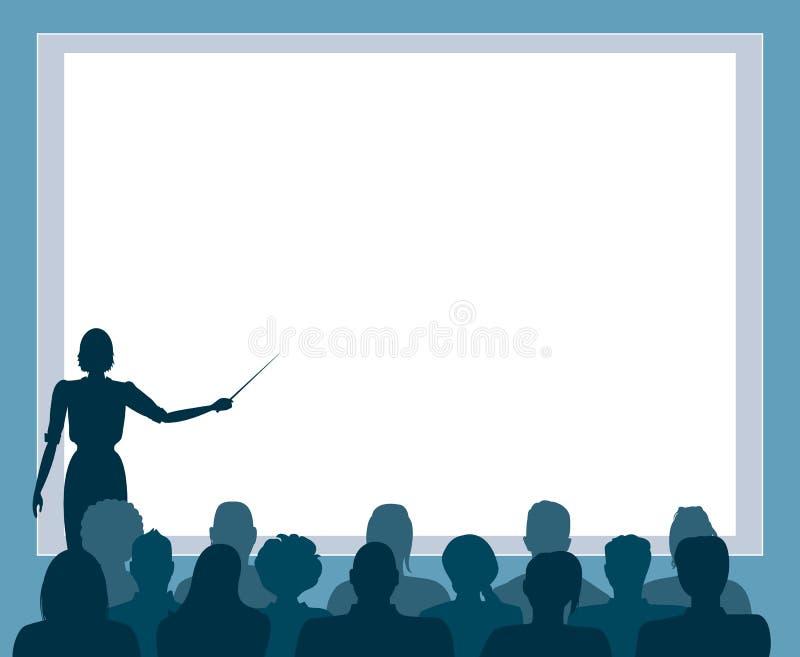 Presentación del asunto libre illustration