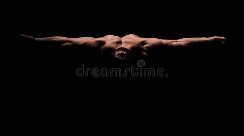 Presentación del Bodybuilder fotos de archivo