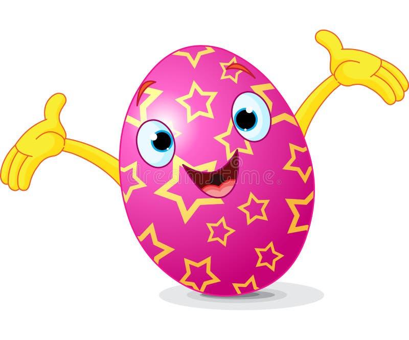 Presentación del huevo de Pascua ilustración del vector