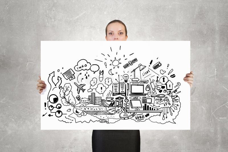 Presentación del plan empresarial imágenes de archivo libres de regalías