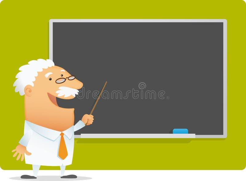 Presentación del profesor libre illustration