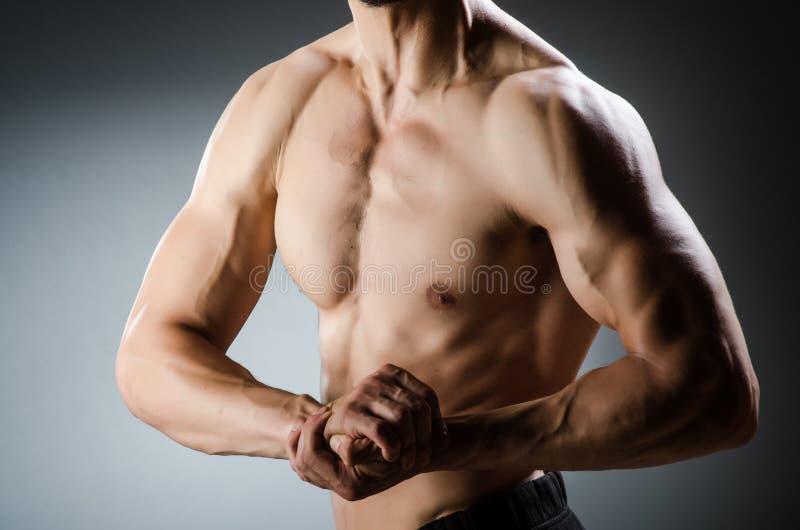 Download Presentación Muscular Del Hombre Imagen de archivo - Imagen de bodybuilder, individuo: 41914365