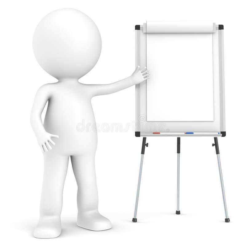 Presentatie. royalty-vrije illustratie