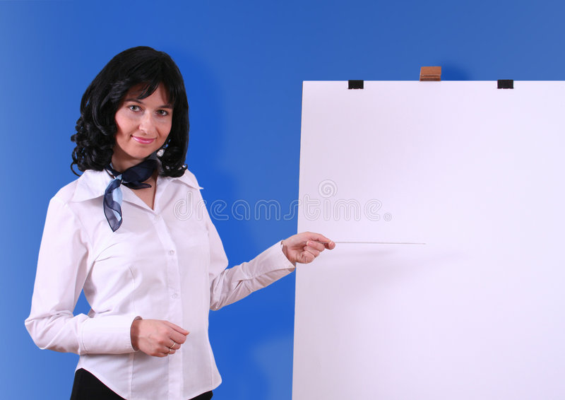 Presentatie van idee stock foto's