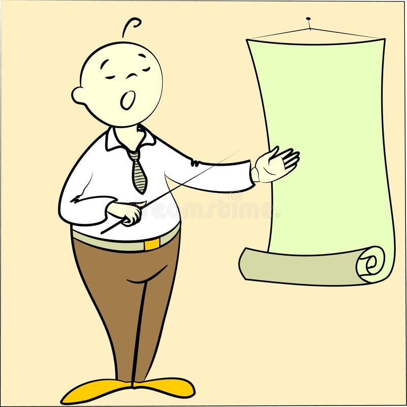 Presentation vector illustration