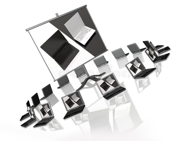 Download Presentation stock illustration. Image of concept, keyboard - 18404541