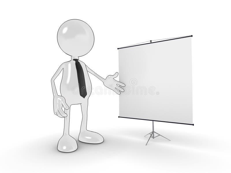 presentation vektor illustrationer