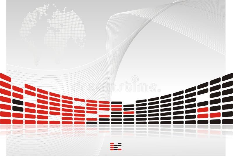Presentation background vector illustration