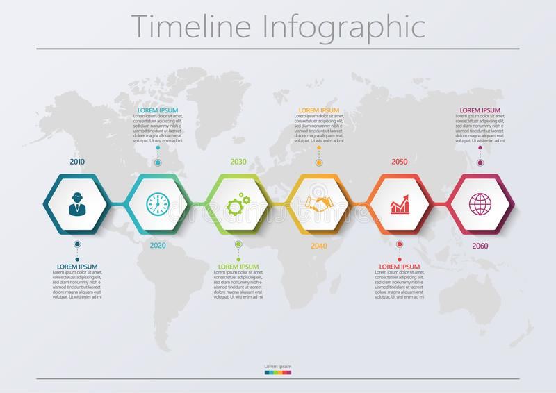Presentation business infographic template stock photography