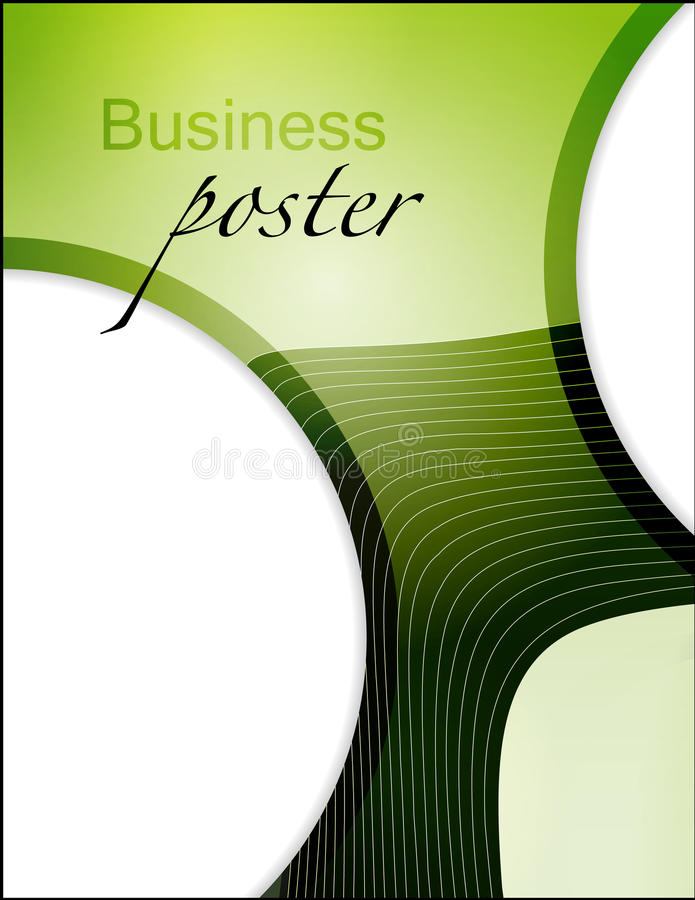 Download Presentation Of Business Poster Stock Vector - Image: 31320422