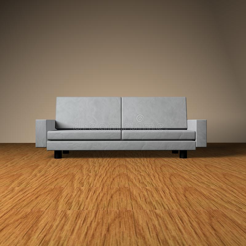 Presentation Couch Stock Photography