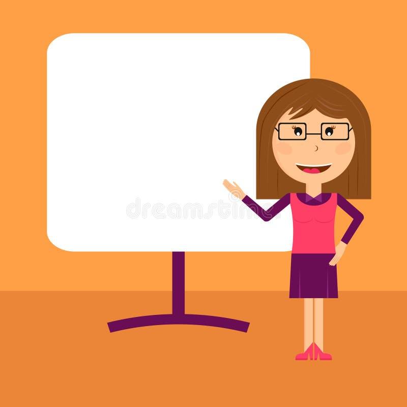 Download Presentation För Affärskvinna Vektor Illustrationer - Illustration av affär, tecken: 76701202