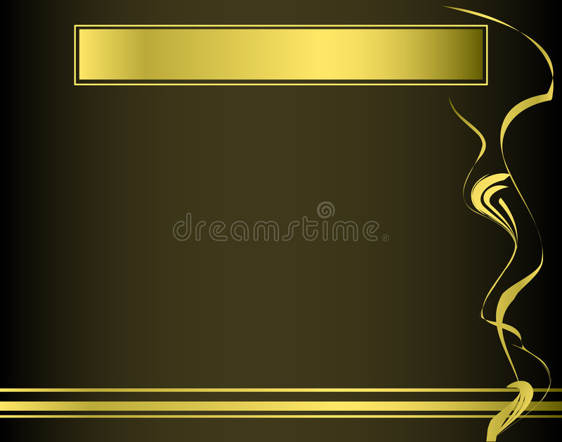 Presentation frame vector illustration
