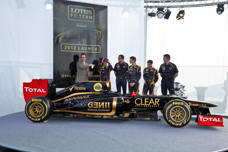 Download Presentation Of The Lotus Renault E20, 2012 Editorial Image - Image: 23229645