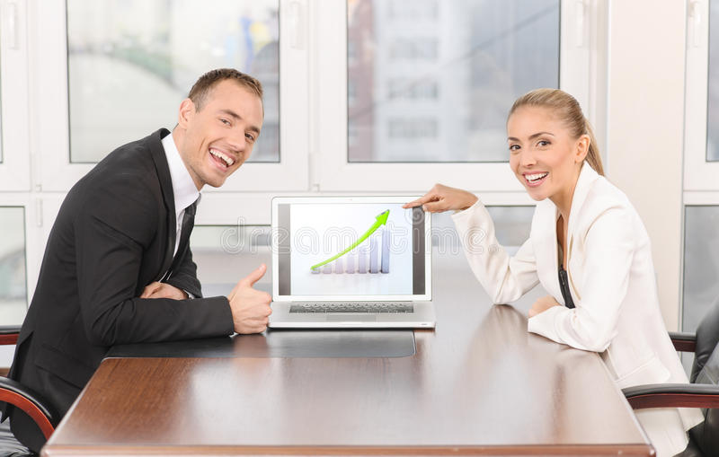 Download Presentation in office stock image. Image of occupation - 32139459