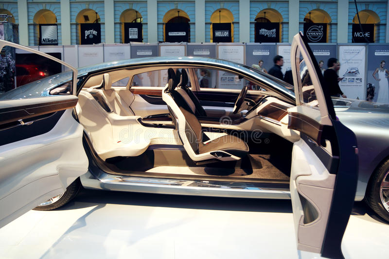 Download Presentation Of S60 R-Design At Volvo Fashion Week Editorial Stock Image - Image: 30757129