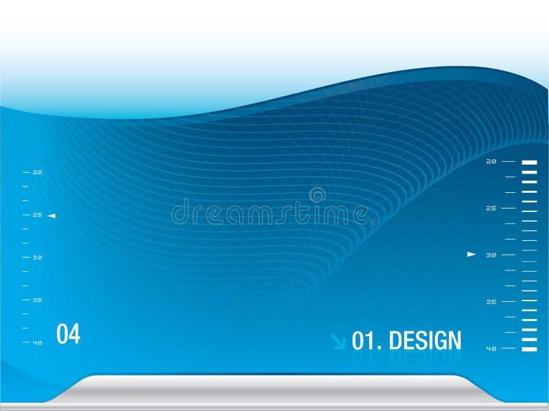 Download Presentation Template stock illustration. Image of blue - 25304989