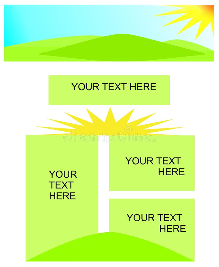 Download Presentation Template, Cdr Vector Stock Vector - Illustration of presentation, text: 17906424
