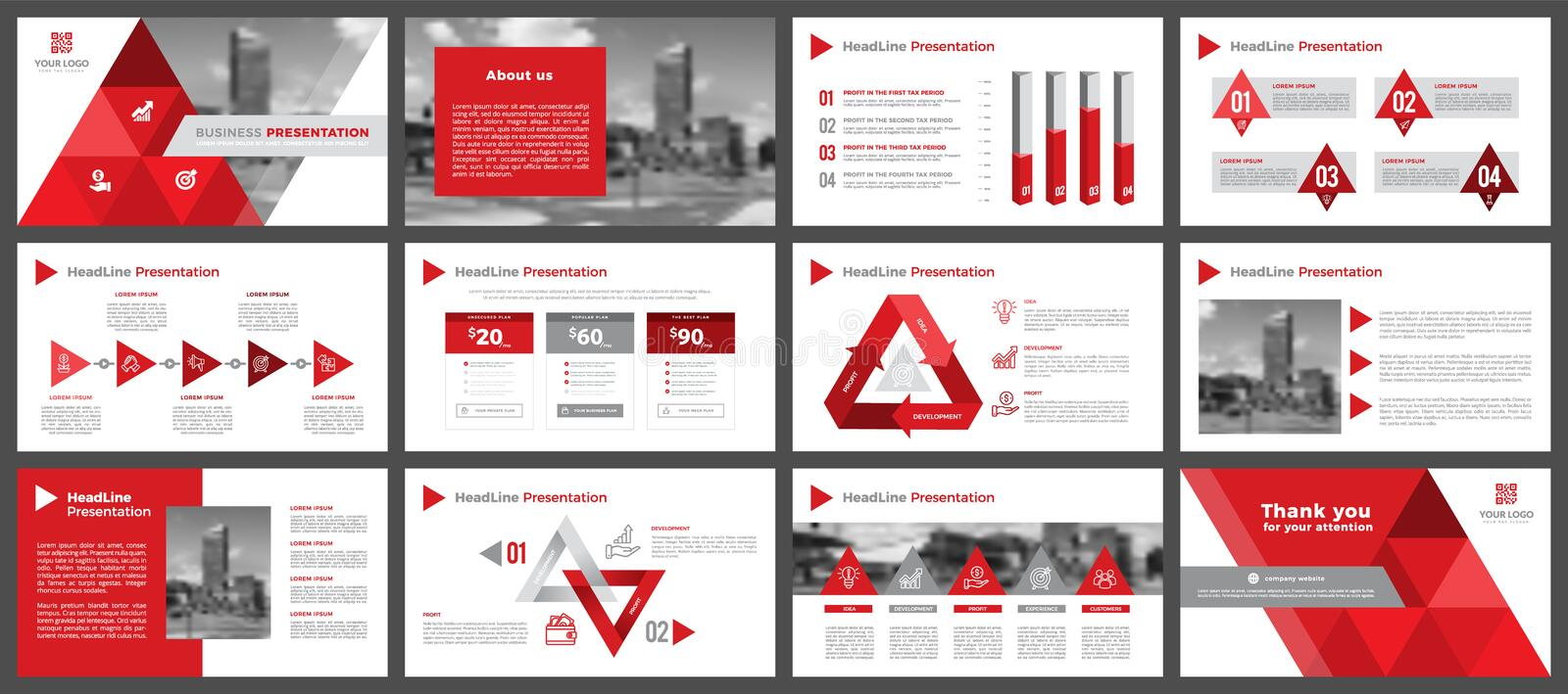 Presentation templates, corporate. Elements of infographics for presentation templates. Annual report, book cover, brochure, layout, leaflet layout template royalty free stock image
