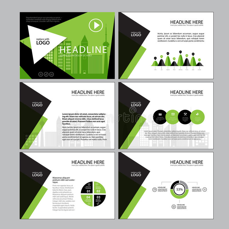Presentation Templates Infographic Elements Template Flat Design - Marketing layout templates