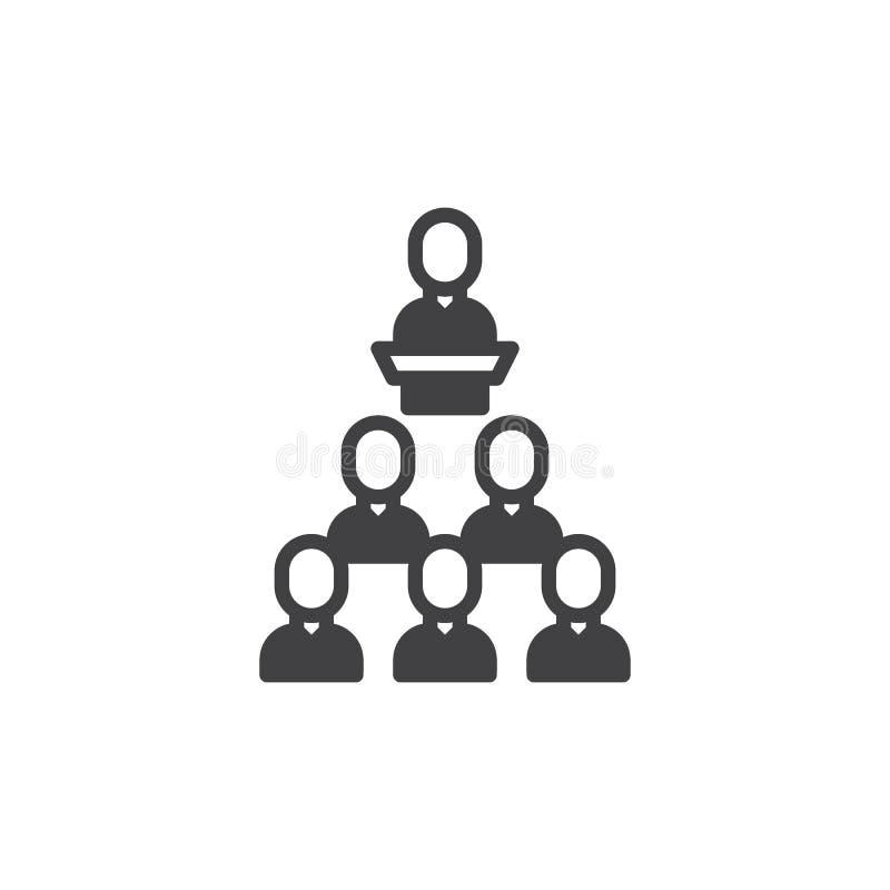 Presentationssymbolsvektor stock illustrationer