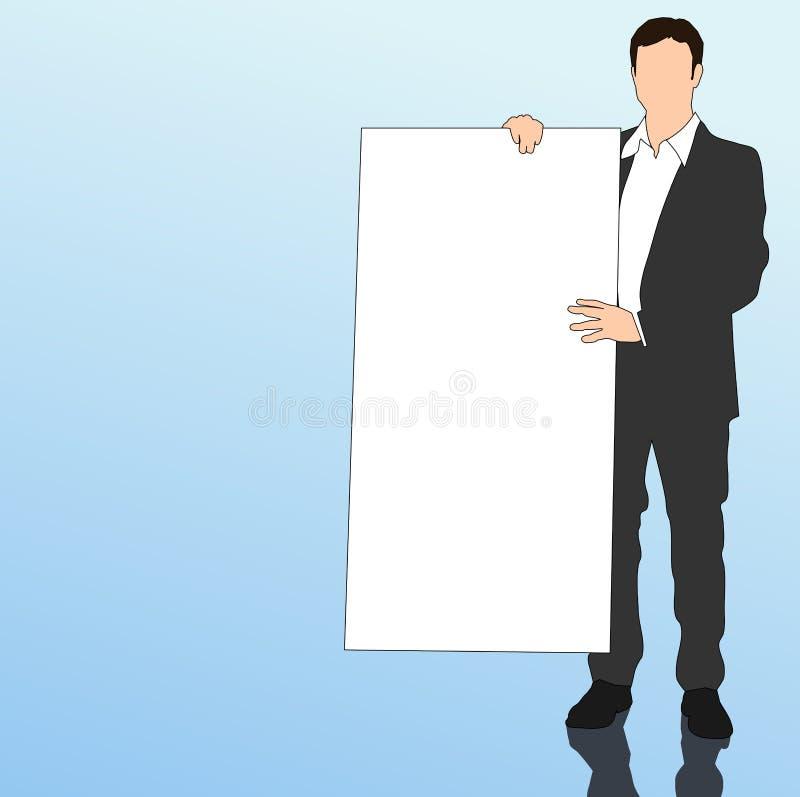 Presentazione illustrazione di stock