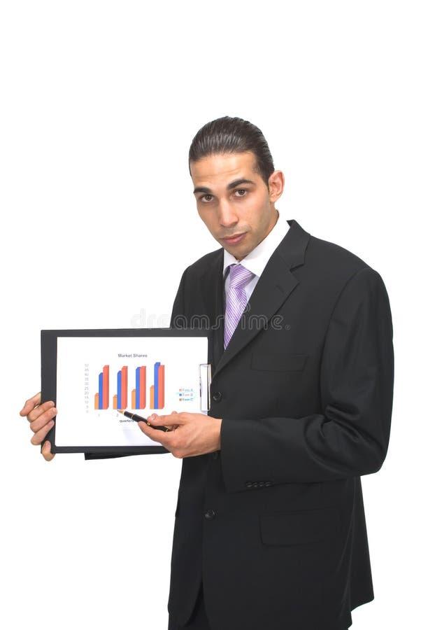 Presentazione di affari fotografia stock