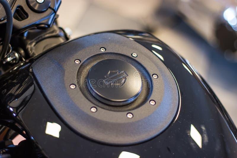 Presentazione di modello di Harley Davidson FXDR 114 immagine stock libera da diritti