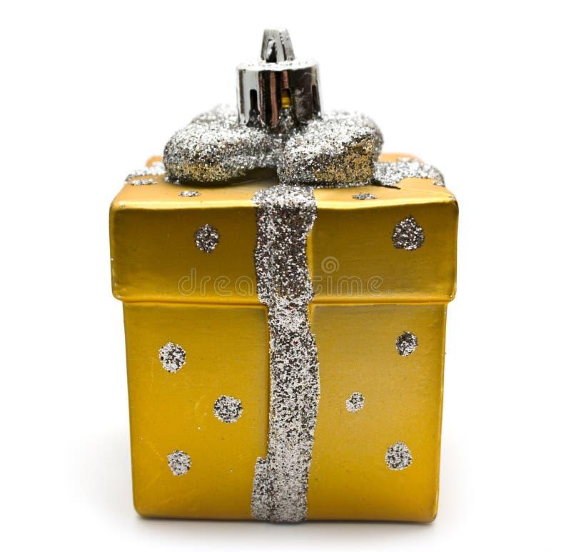 Presente ao Natal foto de stock royalty free