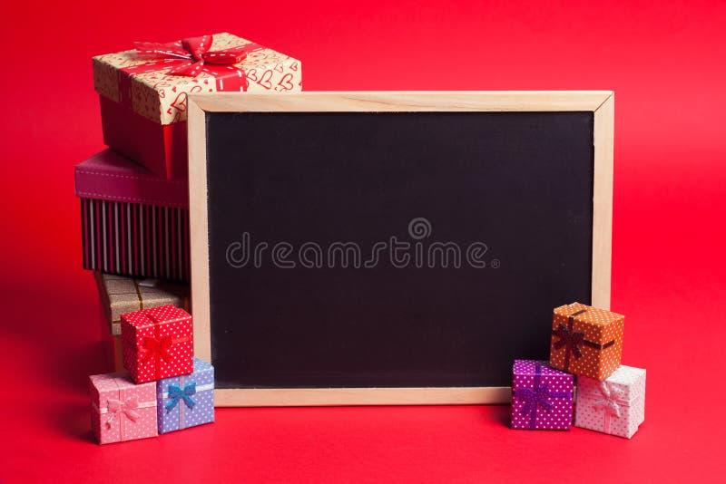 Presente Boxes imagens de stock royalty free
