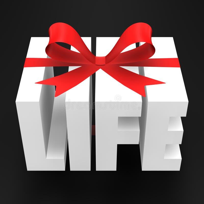 Presente da vida ilustração royalty free