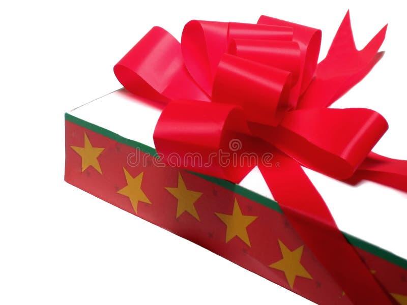 Presente de feriado foto de stock royalty free