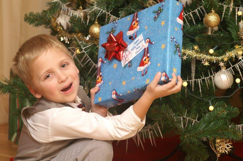 Presente do Natal imagem de stock royalty free