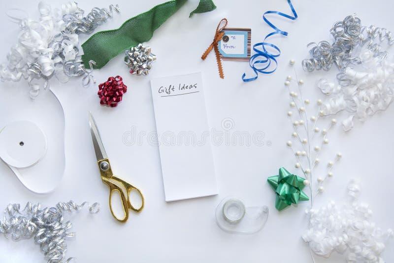 Presente do Natal para o Natal com empacotamento foto de stock royalty free