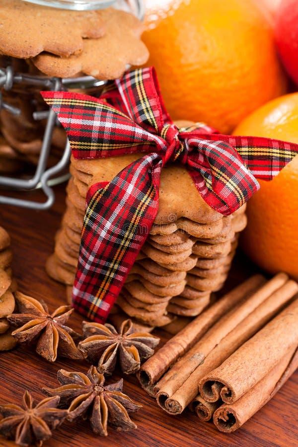 Presente doce, montão das cookies imagens de stock