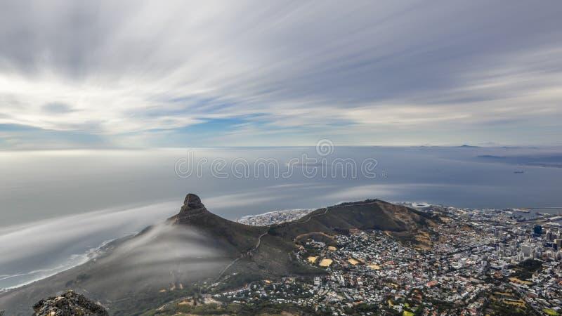 Presente la montaña fotos de archivo
