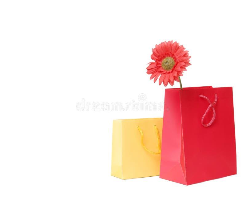 Download Presente O Sacchetti Di Acquisto Fotografia Stock - Immagine di mall, giornaliere: 7319808