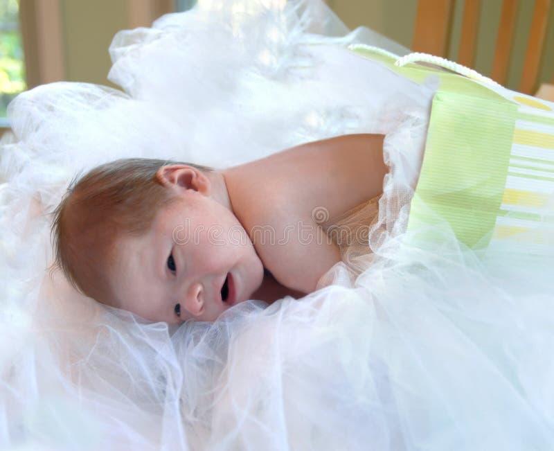 Presente recém-nascido imagens de stock royalty free