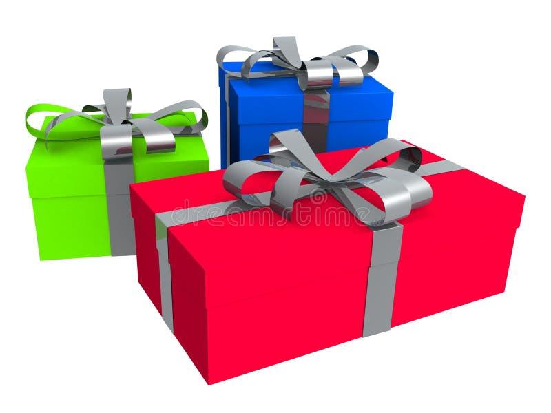 Presente, regalo libre illustration