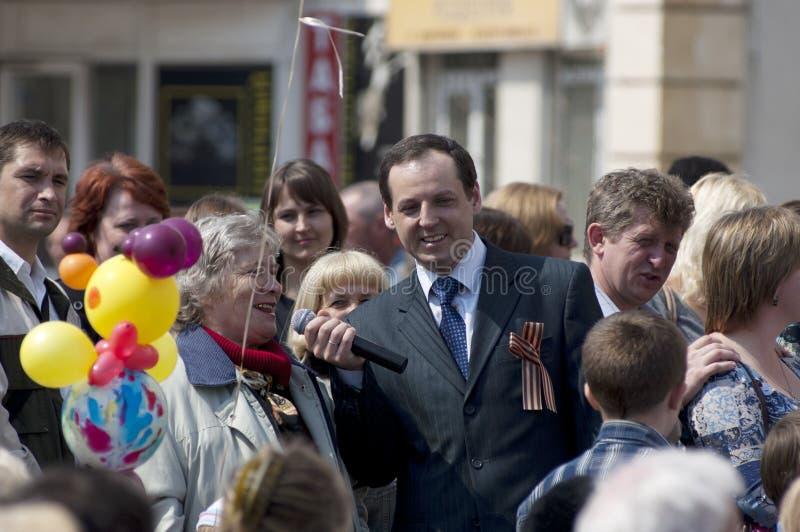 Presenter Andrey Polunin