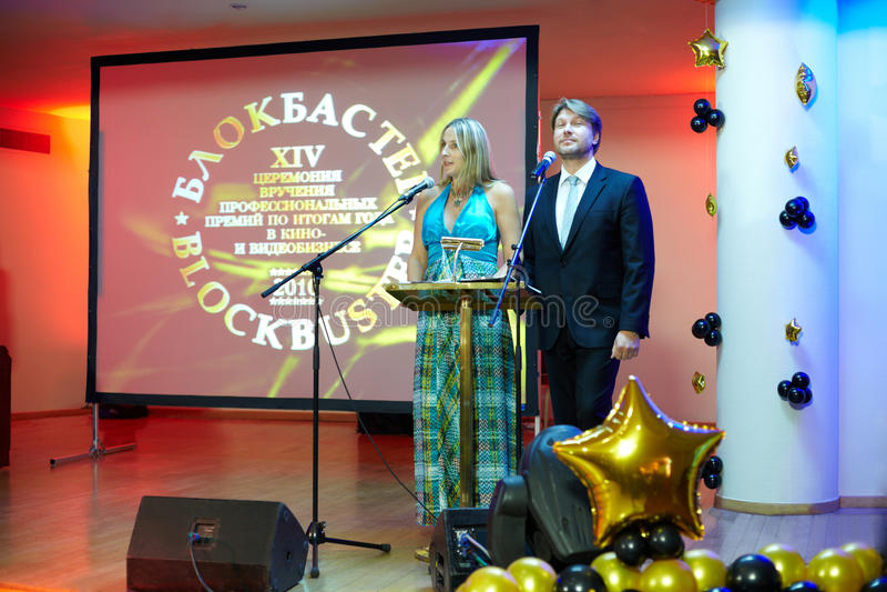 Download Presenters Of Prize Presentation Ceremony Editorial Image - Image: 20698455