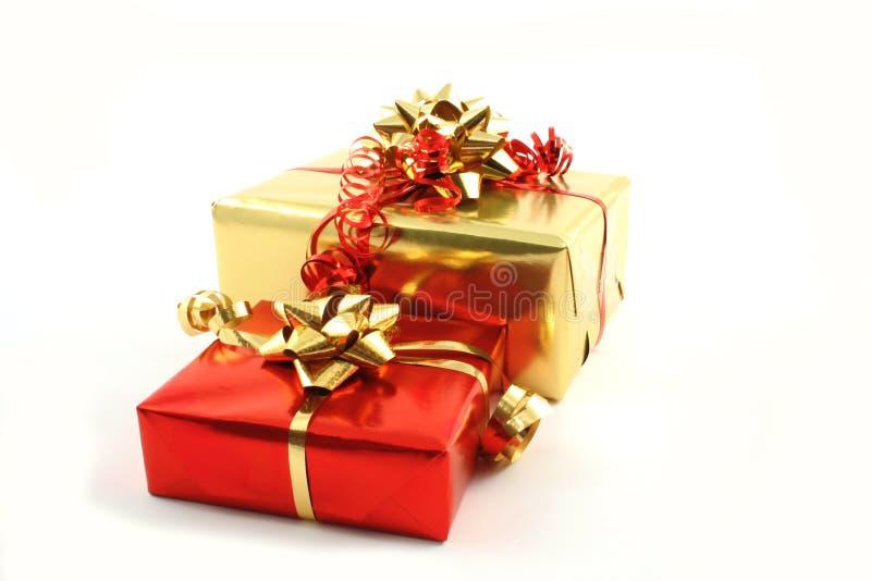 Presentes fotos de archivo libres de regalías