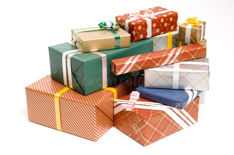Presentes 2 fotos de archivo libres de regalías